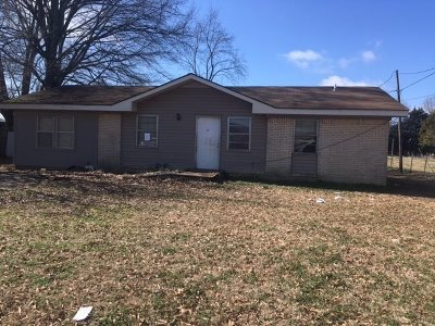 Crockett County Single Family Home For Sale: 52 Mulberry St Ext