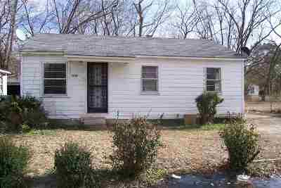Humboldt TN Single Family Home For Sale: $16,000