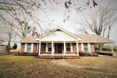 Milan TN Single Family Home For Sale: $125,000