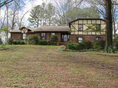 Dyersburg Single Family Home For Sale: 1571 Laura Ln