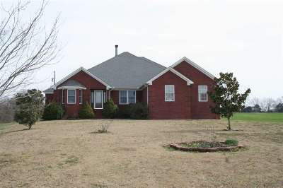 Dyersburg Single Family Home For Sale: 258 Gordon Road