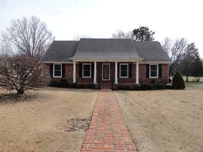 Milan TN Single Family Home For Sale: $184,900