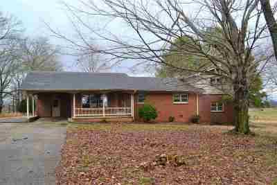 Dyersburg Single Family Home For Sale: 444 Sorrell Chapel