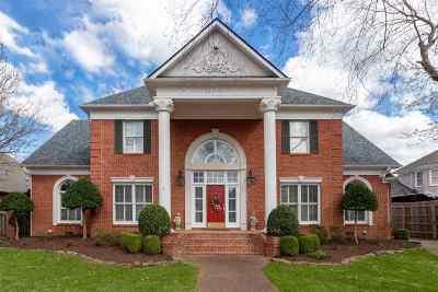 Jackon, Jackson, Jackson Tn, Jakcson Single Family Home For Sale: 18 Torrey Pines