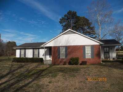 Hardeman County Single Family Home For Sale: 1960 Newsom Road