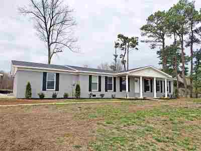 Dyersburg Single Family Home Backup Offers Accepted: 1489 Jenkinsville Jamestown Rd