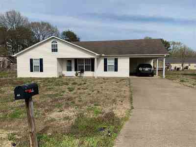 Crockett County Single Family Home For Sale: 66 N Craves