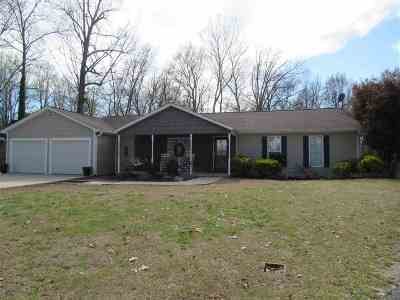 Dyersburg Single Family Home Backup Offers Accepted: 484 Walnut Ln