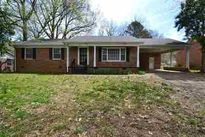 Gibson County Single Family Home For Sale: 2646 Cole Drive