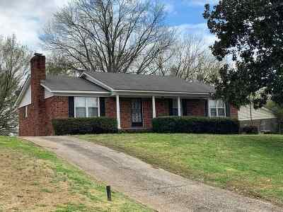 Dyersburg Single Family Home For Sale: 1009 Wren
