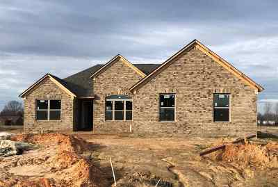 Crockett County Single Family Home For Sale: 16 Patterson Cove
