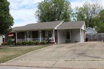 Dyersburg Single Family Home For Sale: 1820 Sam Houston Dr