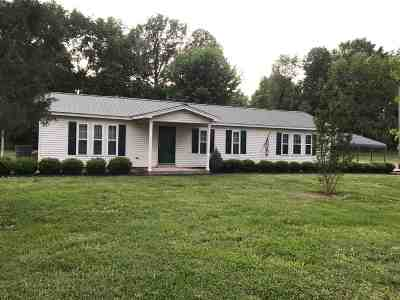 Lauderdale County Single Family Home Backup Offers Accepted: 12125 Hwy 51 H