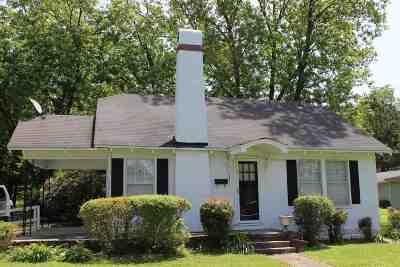 Crockett County Single Family Home Back On Market: 155 S Johnson