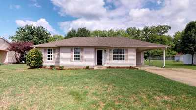 Dyersburg Single Family Home Backup Offers Accepted: 120 Andrea Drive