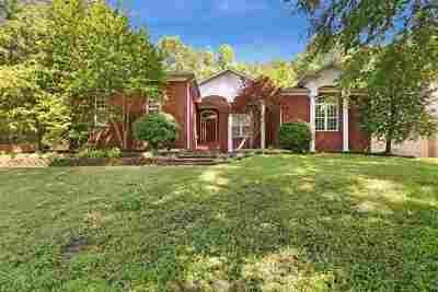 Jackon, Jackson, Jackson Tn, Jakcson Single Family Home For Sale: 19 Brentmeade