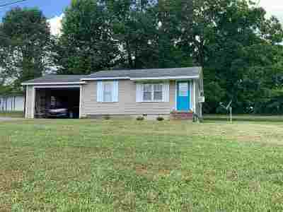 Weakley County Single Family Home For Sale: 220 Pillowville Gleason