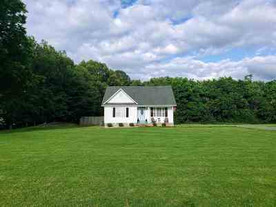 Gibson County Single Family Home Active-Price Change: 169 Gibson Cemetery
