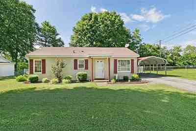 Gibson County Single Family Home For Sale: 1074 Dell