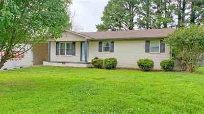 Dyersburg Single Family Home Backup Offers Accepted: 6988 E Hwy 104