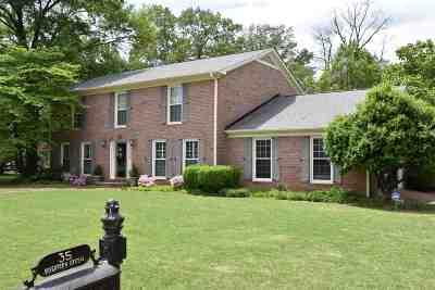 Jackon, Jackson, Jackson Tn, Jakcson Single Family Home For Sale: 35 Seventeen Green