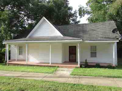 Gibson County Single Family Home For Sale: 1636 Burrow Street