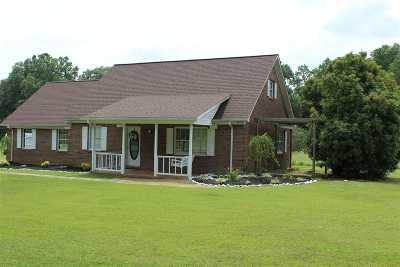 Weakley County Single Family Home For Sale: 2529 Tumbling Creek