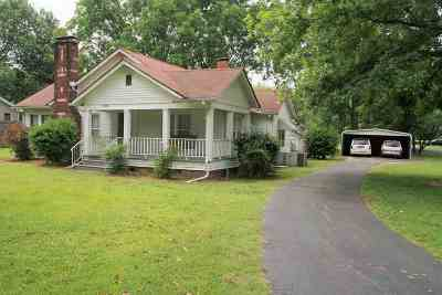 Dyersburg Single Family Home For Sale: 5973 E Highway 104