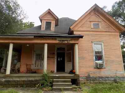 Dyer TN Single Family Home For Sale: $19,000