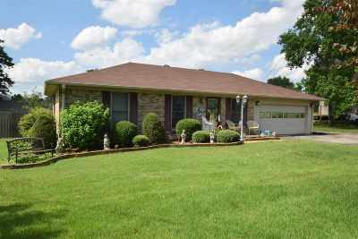 Milan Single Family Home For Sale: 8072 W Van Hook