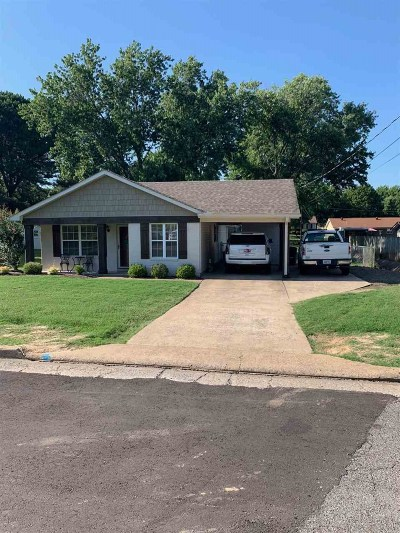 Dyersburg Single Family Home Backup Offers Accepted: 1120 Janice
