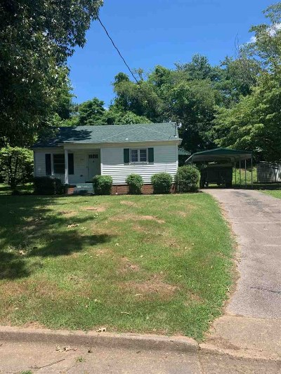 Dyersburg Single Family Home For Sale: 820 Tipton Ave