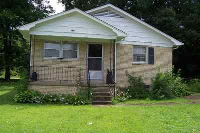 Humboldt TN Single Family Home For Sale: $59,900