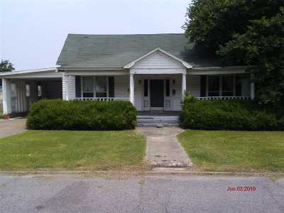 Tiptonville Single Family Home For Sale: 214 Cherry St