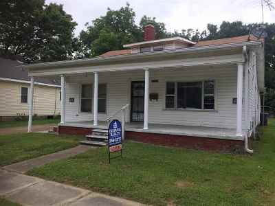 Dyersburg Single Family Home Backup Offers Accepted: 1312 Jones