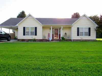 Dyersburg Single Family Home Backup Offers Accepted: 245 Benjamin