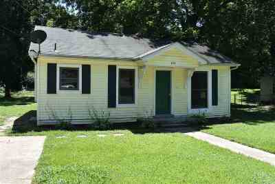 Dyersburg Single Family Home For Sale: 433 Bishop