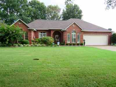 Dyersburg Single Family Home For Sale: 1501 Yellow Twig