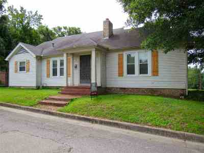 Dyersburg Single Family Home For Sale: 546 Sugg