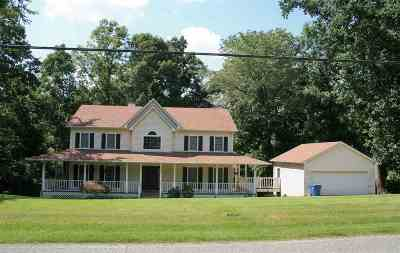 Dyersburg Single Family Home For Sale: 25 Oak Ridge Rd Ext