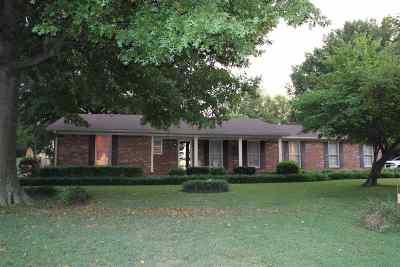 Crockett County Single Family Home For Sale: 20 Nancewood