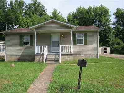 Gibson County Single Family Home For Sale: 211 Etheridge