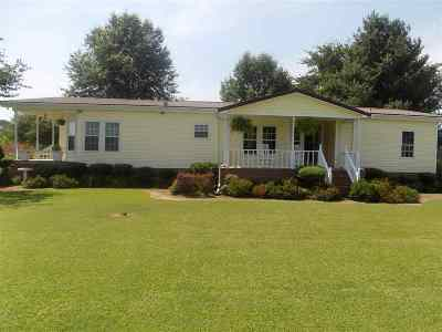 Trenton TN Mobile/Manufactured For Sale: $129,900
