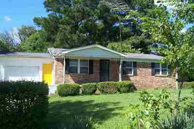 Milan Single Family Home For Sale: 203 Bogle Loop