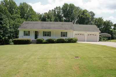 Dyersburg Single Family Home For Sale: 135 Charlie Ennis