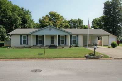 Dyersburg Single Family Home For Sale: 1950 Davy Crockett