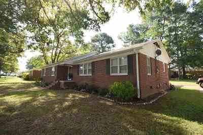 Gibson County Single Family Home For Sale: 3600 Eastview