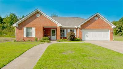 Trenton Single Family Home For Sale: 127 Sammons Cir