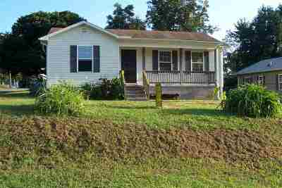 Humboldt TN Single Family Home For Sale: $69,900