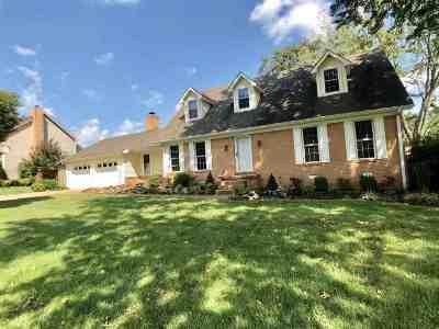 Dyersburg Single Family Home For Sale: 284 Fairfield Drive